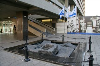 Tel Aviv - Rabinův památník (foto: Kateřina Šestáková)