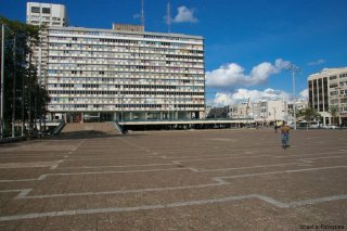 Tel Aviv - Rabinovo náměstí (foto: Kateřina Šestáková)