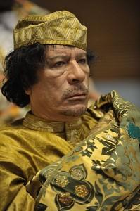 Kaddáfího delegace se snažila získat v Izraeli spojence