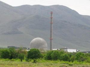 Íránské jaderné zařízení Arak (foto: Nanking2010)