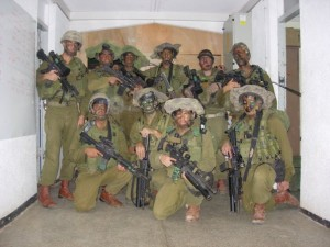 Vojáci praporu Netzah Jehuda