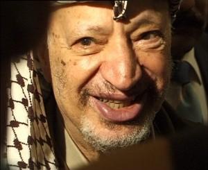 Jásir Arafat (foto: Hans Jørn Storgaard Andersen, licence PD)