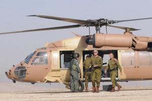 Vrchní velitel izraelské armády Benny Gantz během cvičení (foto: IDF)