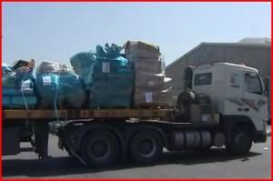 Během září bylo z Izraele do Pásma Gazy dovezeno 136 785 tun humanitární pomoci