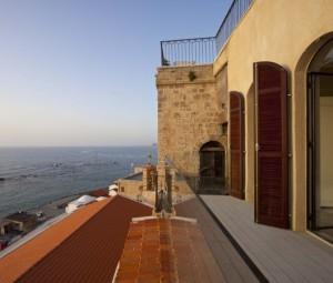 Původně chátrající dům v Jaffě proměněn v luxusní bydlení pro náročné