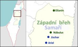 Dočasný soudní zákaz vstupu na Západní břeh pro 12 izraelských osadníků