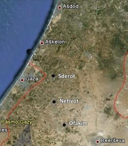 Palestinské rakety dopadají na izraelské území, zasáhly školu i synagogu, 13 zraněných
