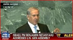 Projev Benjamina Netanjahua během zasedání Valného shromáždění OSN (+video)