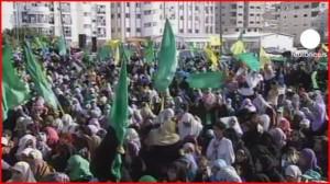 Stovky tisíc lidí přivítaly propuštěné palestinské vězně (+videa)