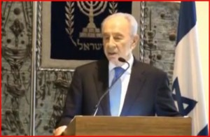 Prezident Peres pozval zahraniční diplomaty na novoroční recepci (+video)