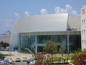 Jedna z budov univerzity v Tel Avivu (foto: Udi50, licence: PD)